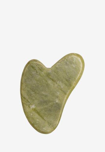 JADE GUA SHA - Skincare tool - green