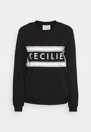 MANILA SPECIAL - Sweatshirt - black/white