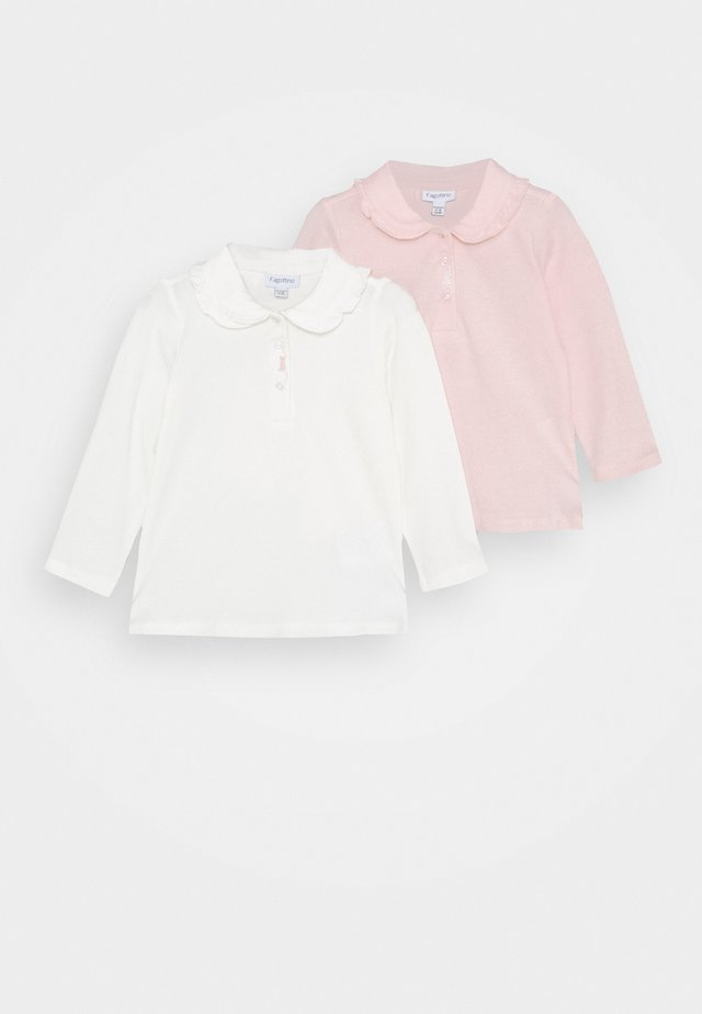 2 PACK - Long sleeved top - primrose pink