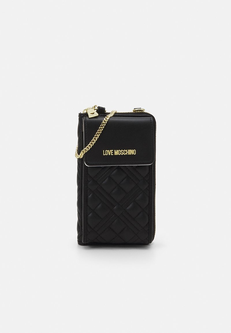 Love Moschino - CHAIN WALLET AND PHONE XBODY - Wallet - nero