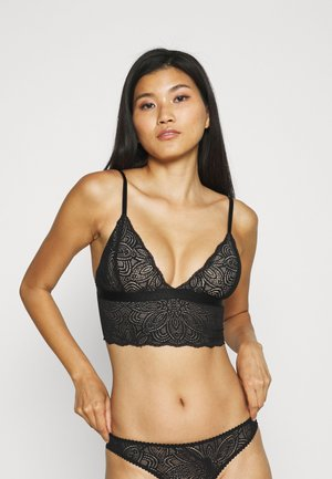 LUNA BRALETTE - Triangle bra - black