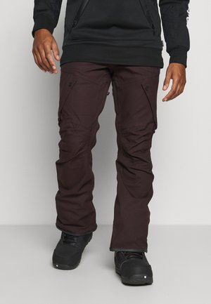 ARTICULATED PANT - Snow pants - black/red