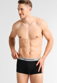 Emporio Armani - STRETCH TRUNK 3 PACK - Shorty - grey/black/white - 4