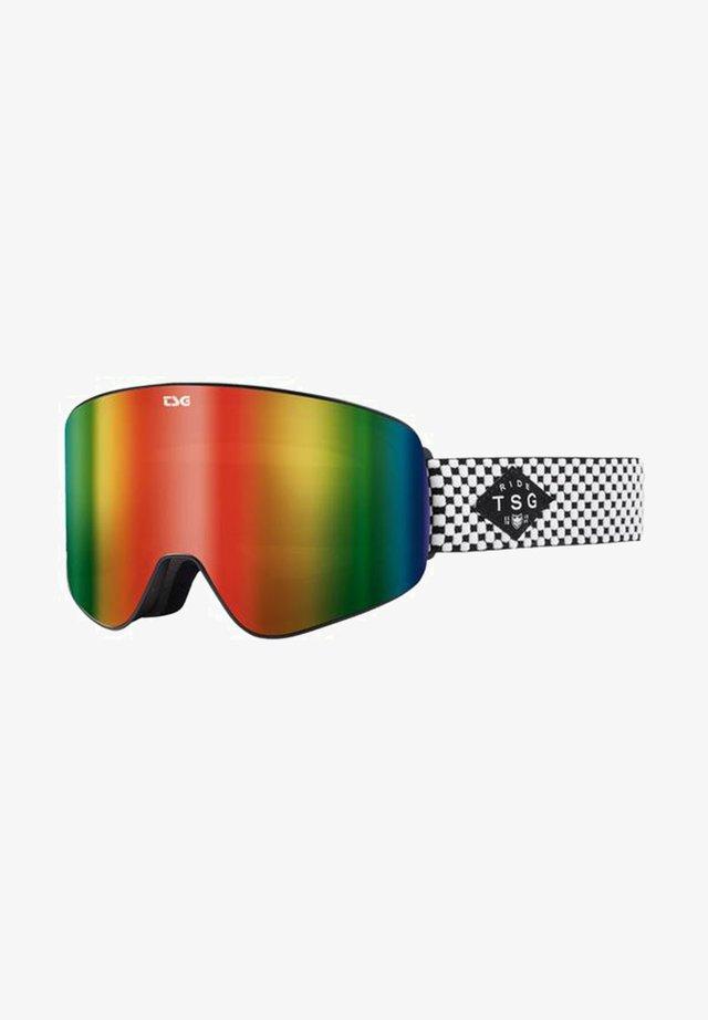 FOUR S - Masque de ski - lowchecker/rainbow chrome