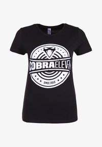 COBRAELEVEN - Print T-shirt - black - 3