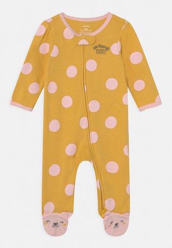 DOT - Sleep suit - yellow