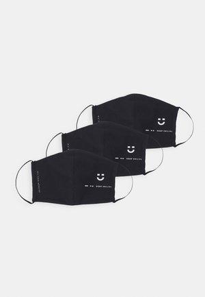 BUNDLE 3 PACK - Stoffen mondkapje - black