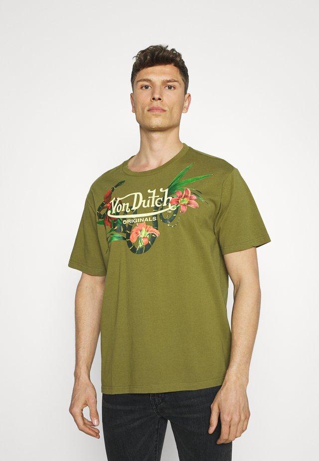 LEIGHTON - T-shirt print - avocado
