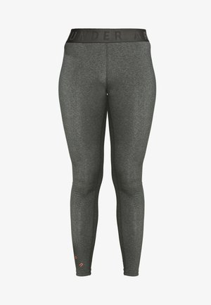 FAVORITE GRAPHIC LEGGING - Punčochy - charcoal light heather/black/beta