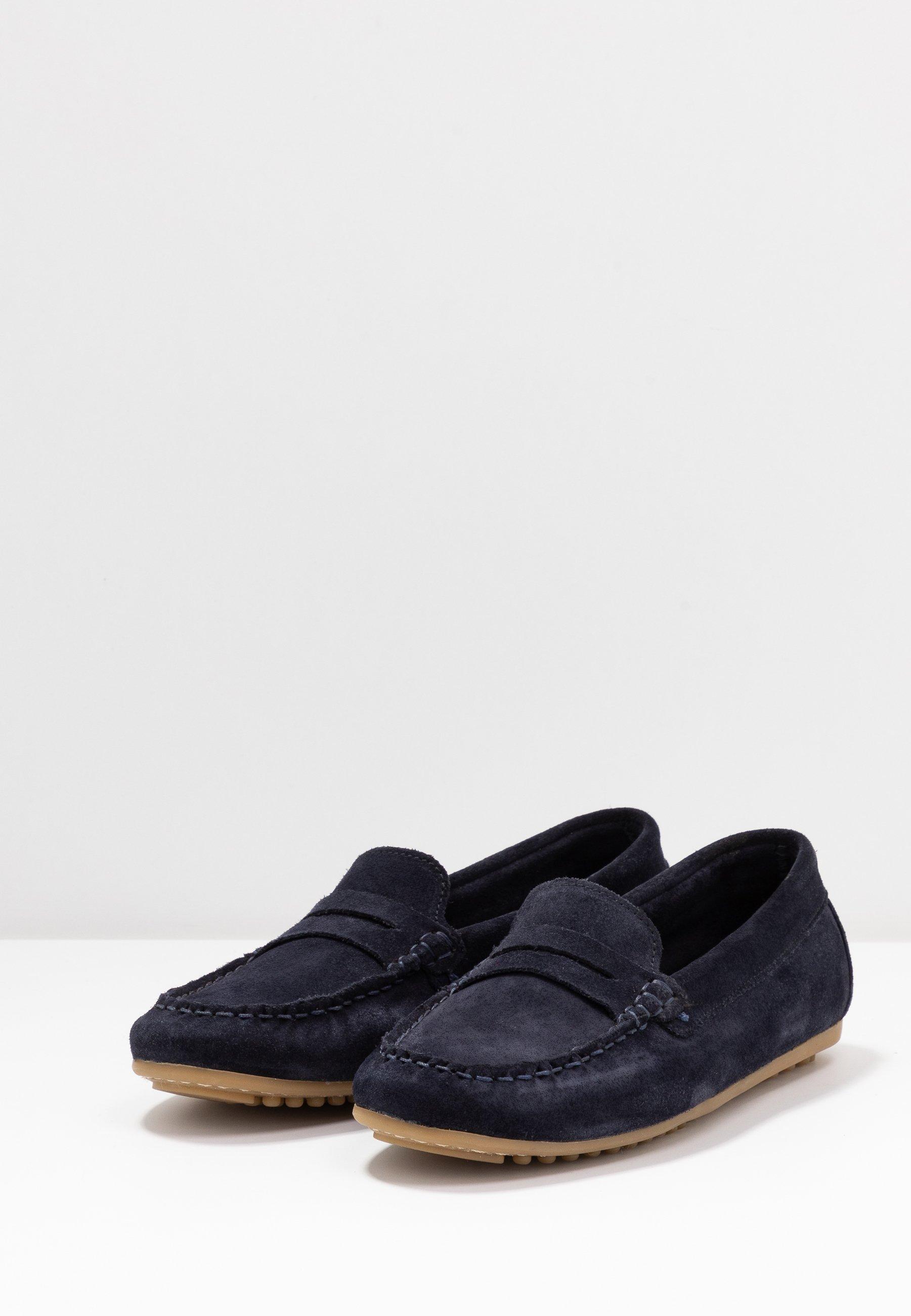 Anna Field Leather Moccasins - Mokkasiner Blue