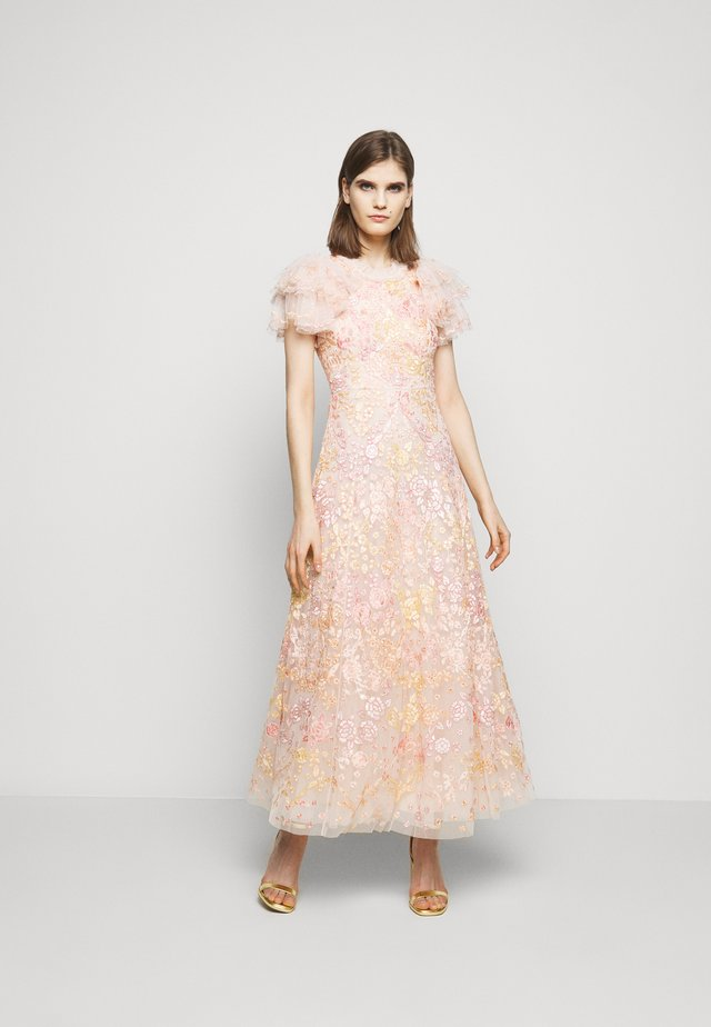 ELIN BLOSSOM ANKLE GOWN - Robe de cocktail - strawberry icing