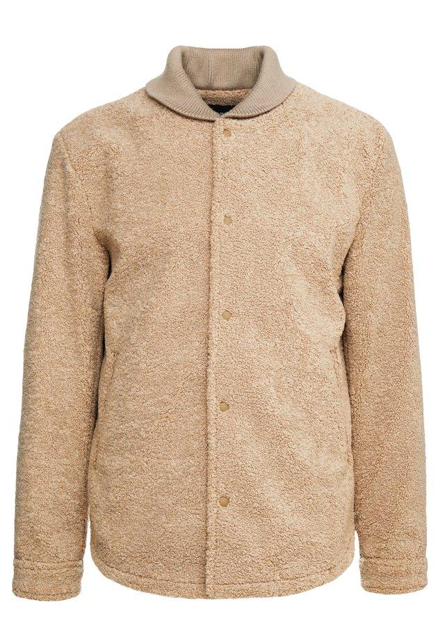 JACKET - Light jacket - mocha