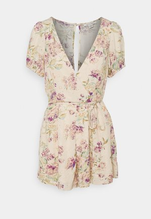 NOTEBOOK ROMPER - Overal - cream
