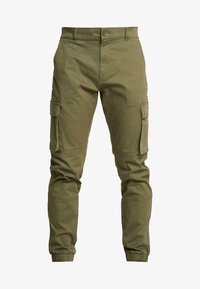 Only & Sons - ONSCAM STAGE CUFF - Reisitaskuhousut - olive night - 4