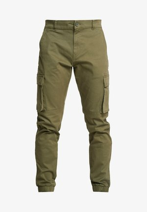 ONSCAM STAGE CUFF - Cargo trousers - olive night