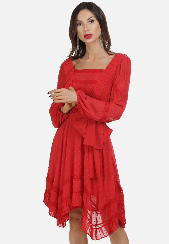 KLEID - Sukienka letnia - red