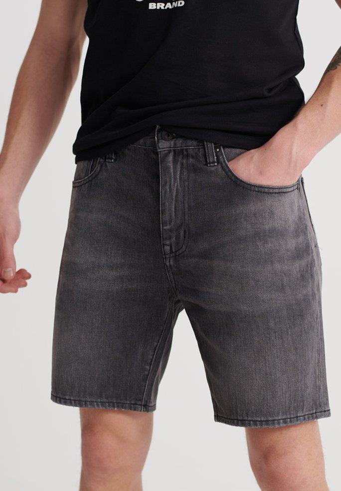 Homme SUPERDRY 05 CONOR TAPER SHORTS - Short en jean