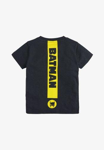 BATMAN SHORT SLEEVE T-SHIRT - Triko spotiskem - black