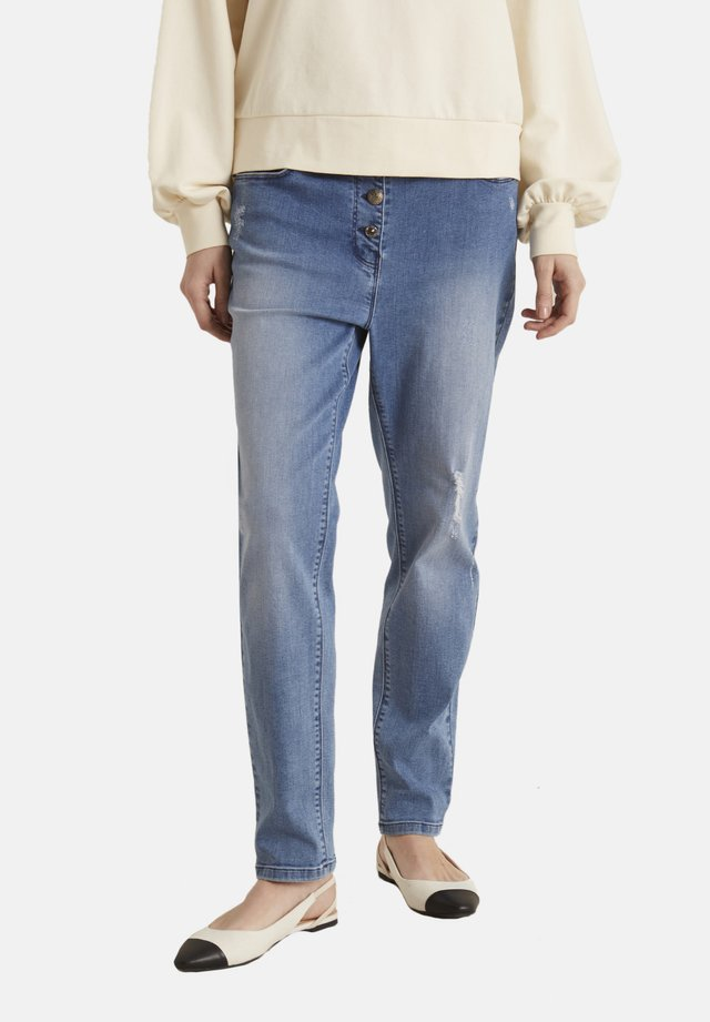 BERLIN - Straight leg jeans - blu