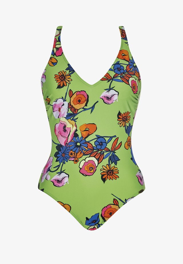 Swimsuit - multi-coloured