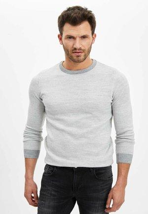 SLIM FIT  - Jumper - grey