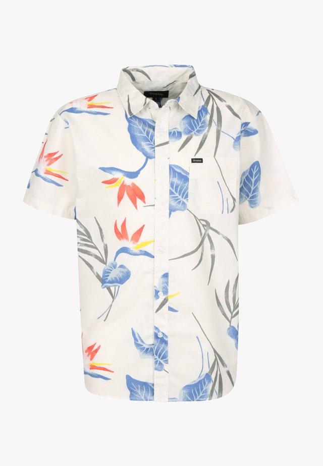 Overhemd - off white/blue