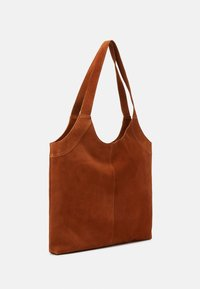Anna Field - LEATHER - Tote bag - cognac - 1