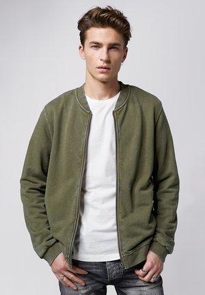 BARIS - Zip-up hoodie - vintage military green