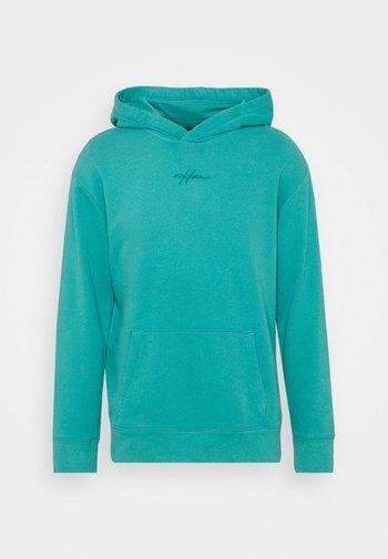 SOLID SCRIPT - Sweatshirt - green blue