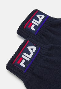 Fila - TAPED GLOVES UNISEX - Gloves - black iris - 2