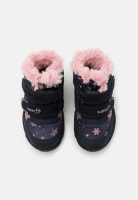 Superfit - GLACIER - Winter boots - blau/rosa - 3