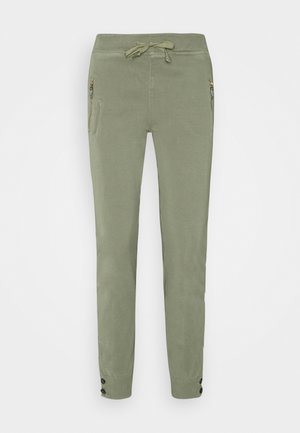 LEVON FLOW PANT - Trousers - soft moss