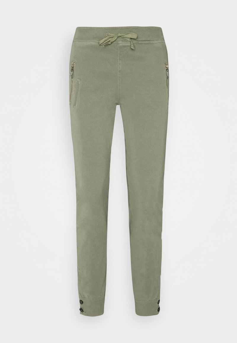 Mos Mosh - LEVON FLOW PANT - Trousers - soft moss
