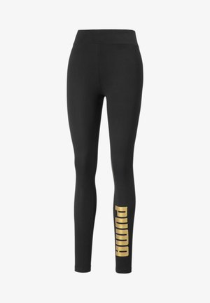 Leggings - black-gold