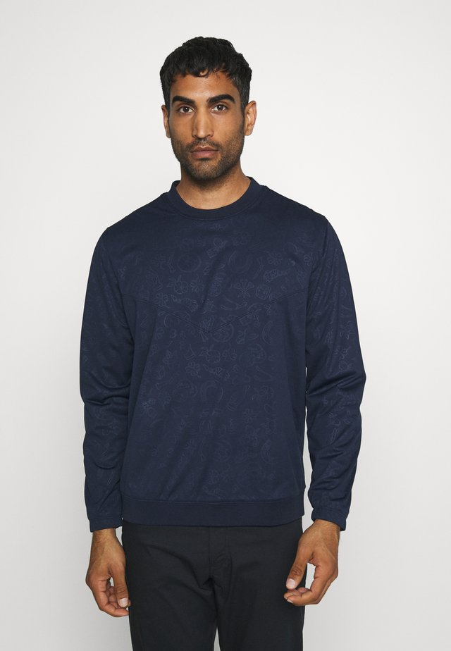SHIELD VICTORY CREW - Sweater - obsidian