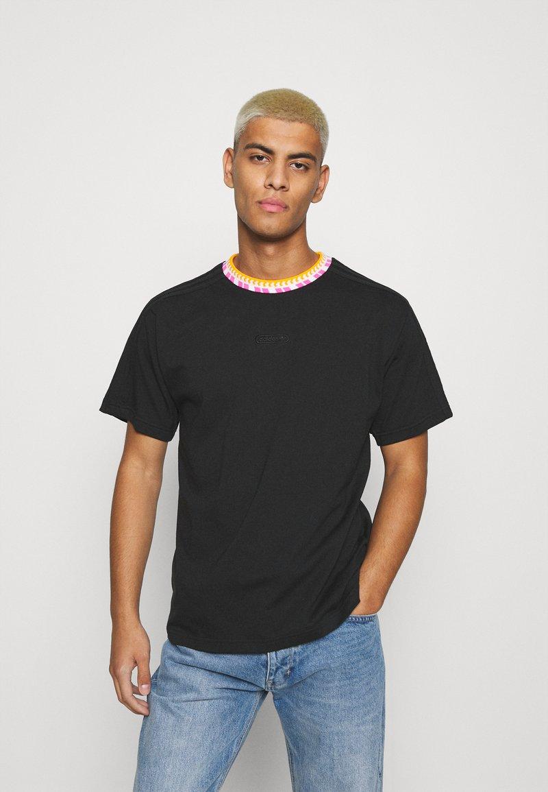 adidas Originals - DETAIL UNISEX - Camiseta básica - black