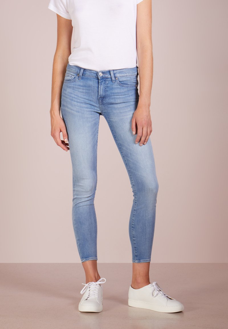 7 for all mankind - CROP - Jeans Skinny Fit - bair mirage