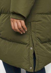 CAPSULE by Simply Be - LONG PADDED DUVET COAT - Classic coat - khaki - 5