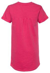 Tommy Hilfiger - LABEL DRESS - Denní šaty - pink - 1