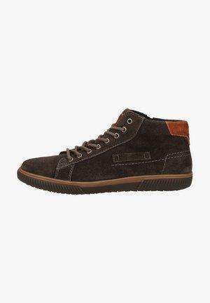 Sznurowane obuwie sportowe - dark grey