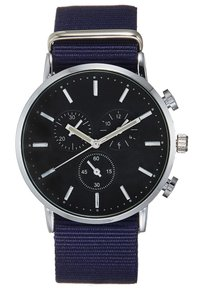 Pier One - Montre - silver-coloured/dark blue - 2