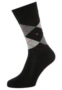 Burlington - 2 PACK - Ponožky - black - 1