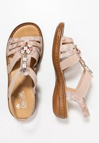 Rieker - Sandals - rosa - 3