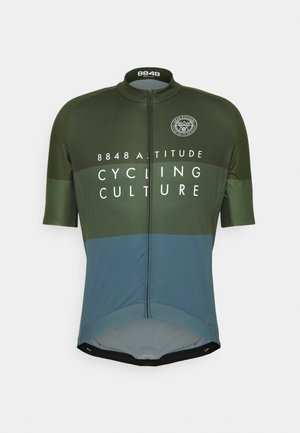 SKYLINE BIKE - Print T-shirt - clover