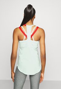 Under Armour - SPORT 2 STRAP TANK - Treningsskjorter - seaglass blue - 2