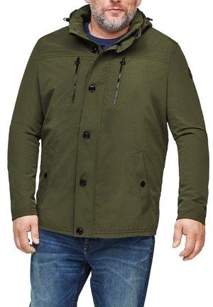 MET EEN LICHTE VOERING - Light jacket - khaki