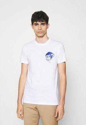 CREDIT CARDS - Print T-shirt - white