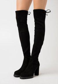 Stuart Weitzman - ZOELLA - High heeled boots - black - 0