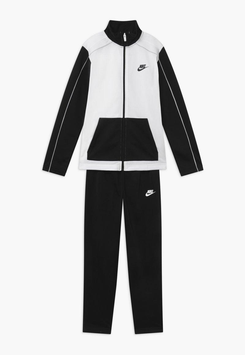 Nike Sportswear - CORE FUTURA SET - Tracksuit - black/white