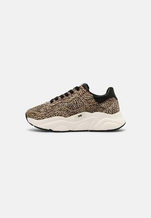 ROCK - Sneakers laag - off white/black